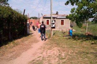 Fueron a comprar una mamadera,   volvieron y lo mataron a balazos - Zanabria fue detenido la semana pasada, en la esquina de su casa del barrio El Chaparral, de Santo Tomé, y sindicado como autor del homicidio