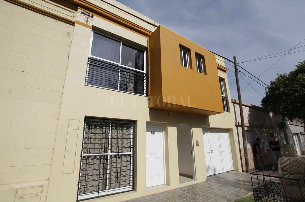 Una de las propiedades allanadas en el marco de la causa. Crédito: Archivo El Litoral / Pablo Aguirre