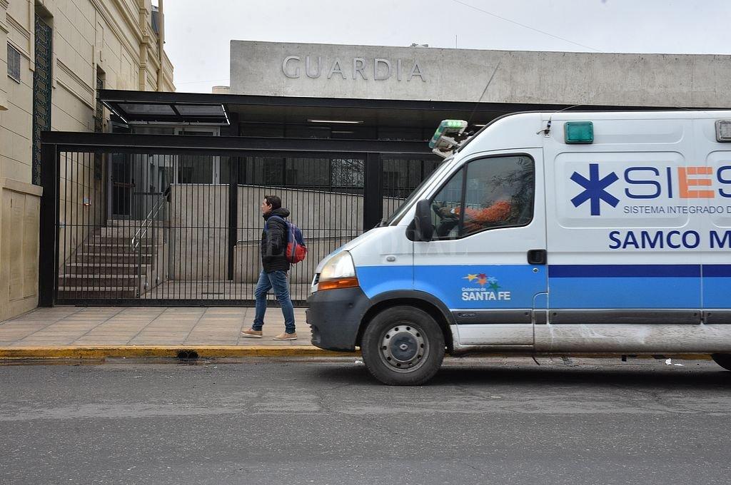 Hospital Cullen. Crédito: Archivo El Litoral / Guillermo Di Salvatore