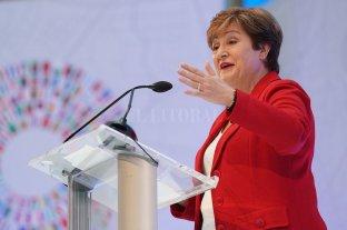 Hasta que no se conozca el programa económico del próximo gobierno el FMI no hará nuevos desembolsos - Kristalina Georgieva, flamante presidenta del FMI. -