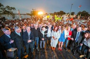 Con Alberto Fernández y Cristina Kirchner, el peronismo reunificó a sus sectores en La Pampa -  -
