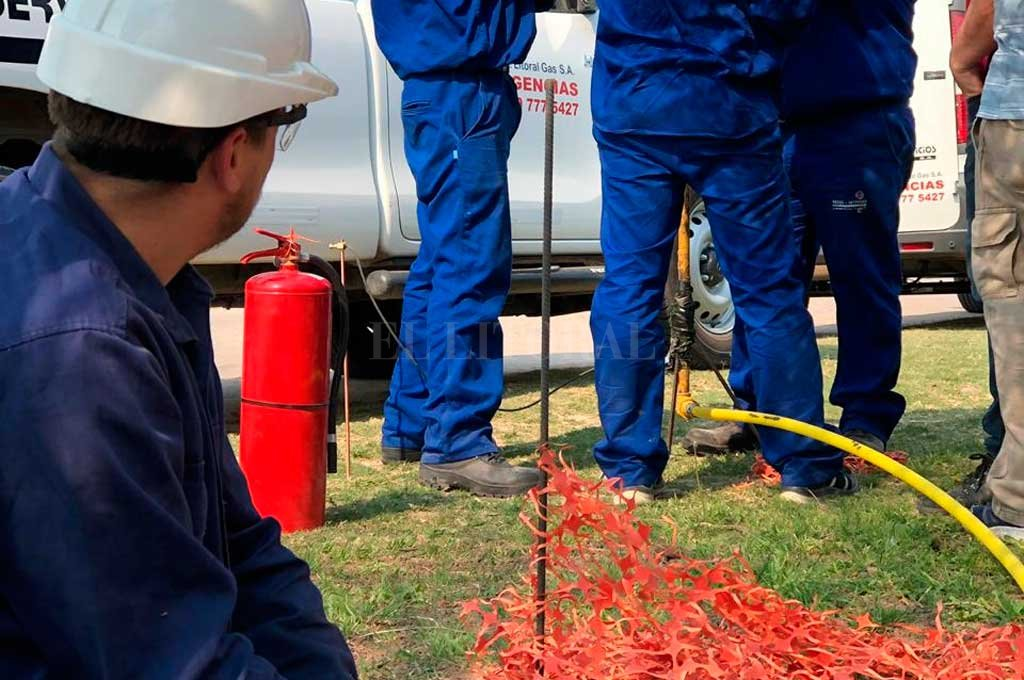 APROBACIÓN PARCIAL. El gasoducto, que se iniciará en la localidad de Arrufó y se extenderá por 65 kilómetros hasta Suardi, contará con cuatro estaciones de superficie. <strong>Foto:</strong> Archivo El Litoral