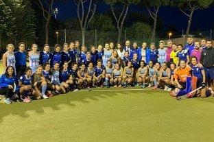 Las Leonas le ganaron 5-1 a Italia en el segundo amistoso