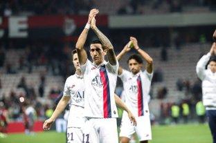 El PSG goleó a Niza con dos goles de Di María y uno de Icardi