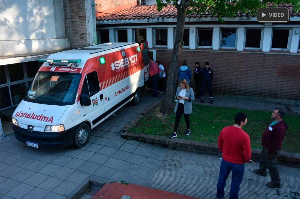 Video: se realiza la migración al nuevo hospital Iturraspe -  -
