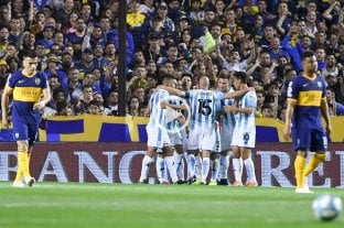 Racing se quedó con el invicto del líder Boca Juniors -  -