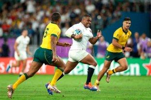 Inglaterra fue demasiado para Australia y es semifinalista del Mundial de Rugby