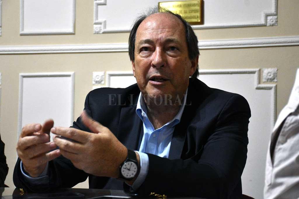 Sanz admitió que los problemas argentinos son tan serios que necesitan de la mirada de todos. La necesidad de ceder para lograr avances. Crédito: Luis Cetraro