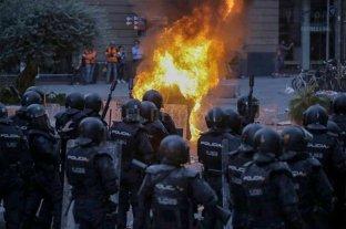 Un herido muy grave entre las 19 personas hospitalizadas por los disturbios en Cataluña