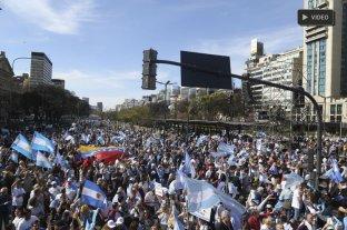 """En vivo: """"Marcha del Millón"""" en apoyo a Macri en el Obelisco"""