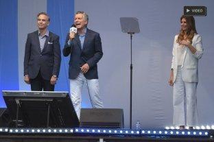 """En un multitudinario acto, Macri llamó a """"dar vuelta la elección"""" el 27 de octubre -"""