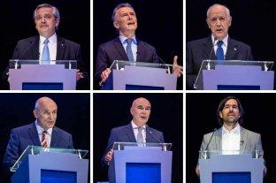 Expectativa por el segundo de debate  de los seis candidatos presidenciales