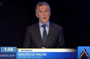 """Macri: """"En las elecciones se elegirá qué tipo de país queremos y en qué sociedad queremos vivir"""""""