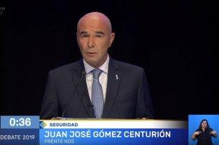 """Gómez Centurión: """"La guerra contra el narcotráfico hay que ganarla caiga quien caiga"""""""