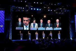 Las principales fotos del debate presidencial -  -