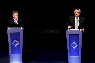 Los cruces entre Macri y Alberto Fernández -  -