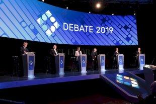 Los candidatos a presidente debatieron a una semana de las elecciones -  -
