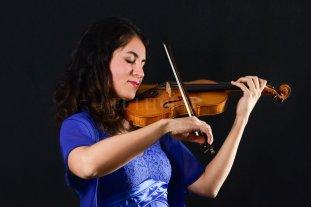 Música de cámara del siglo XX  - Marian Crucci, una de las artistas que participará en el concierto. -