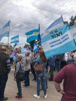 Fotos y videos: así acompañó el interior productivo santafesino la Marcha del Millón