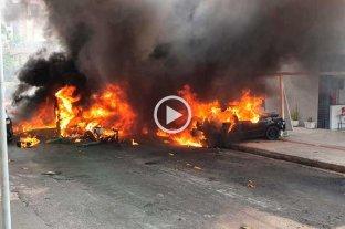 Cayó un avioneta en Belo Horizonte y murieron tres personas -  -