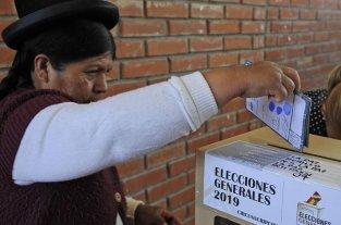 Elecciones en Bolivia: Cancelaron el escrutinio provisorio -  -