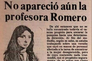 La cobertura de El Litoral del caso Marta Romero