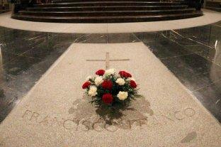 El jueves exhumarán los restos de Francisco Franco