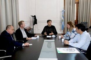 El ministro de seguridad Maximiliano Pullaro se reunió con el intendente Gonzalo Toselli