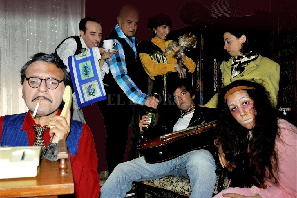 El espectáculo combina misterio, humor y rock nacional.  Crédito: Julieta y Manuela Alonso