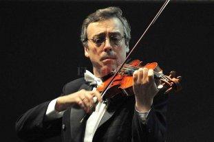 La Sinfónica y sus Cuerdas  - La dirección estará a cargo del maestro invitado Pablo Saraví mientras que el solista invitado será el mismo Saraví con su violín. -