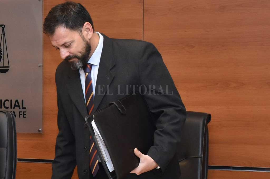 El juez designado para el tratamiento de la preventiva será el Dr. Rodolfo Mingarini. <strong>Foto:</strong> Archivo El Litoral