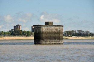 El río Paraná sigue en baja en el Puerto de Santa Fe -  -