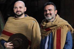 Gran Peña Folclórica con La Yunta - Humarán y Páez comenzaron a cantar juntos hace 19 años, y hoy recorren el país con el poncho tucumano como bandera. -