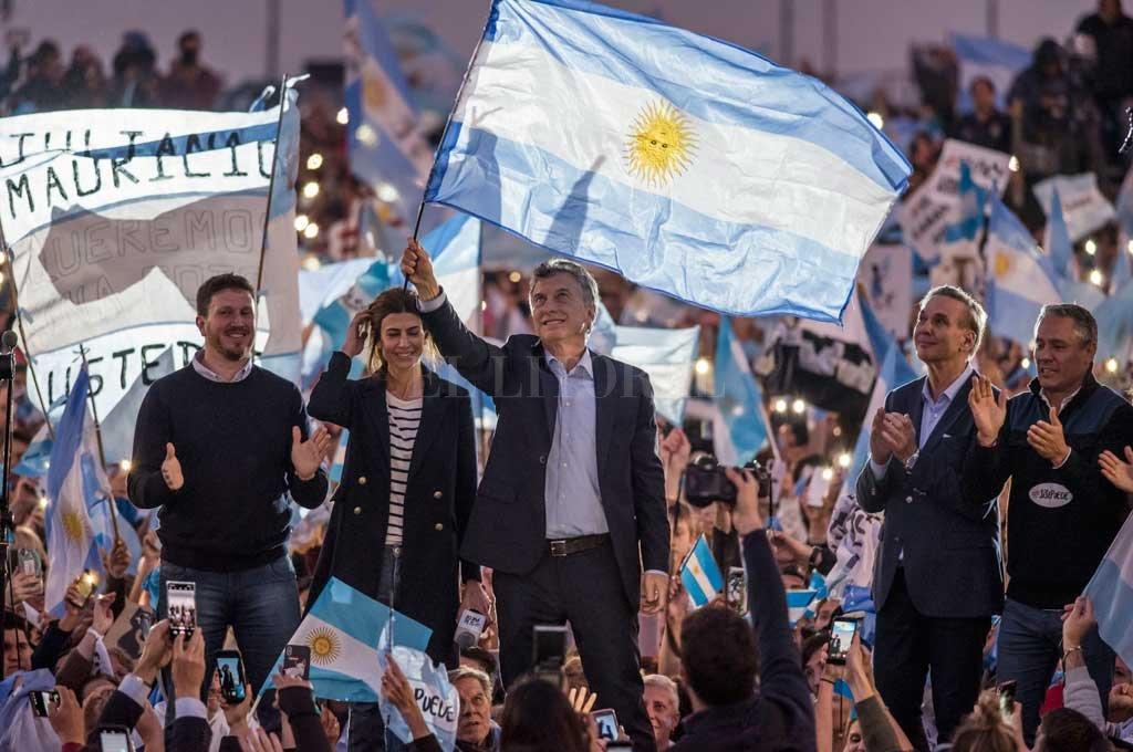 Macri pasó por su Rosario y continúa la campaña en Mar del Plata Crédito: Marcelo Manera