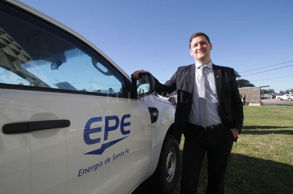 Maximiliano Neri, presidente del Directorio de la EPE.  Crédito: Mauricio Garín