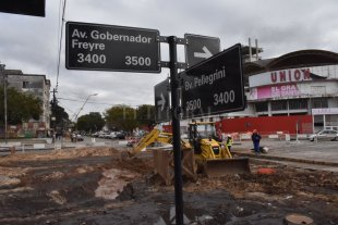 Cortes y desvíos por la renovación de Avenida Freyre