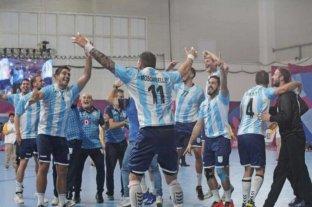 Handball: histórico triunfo de Argentina ante Rusia
