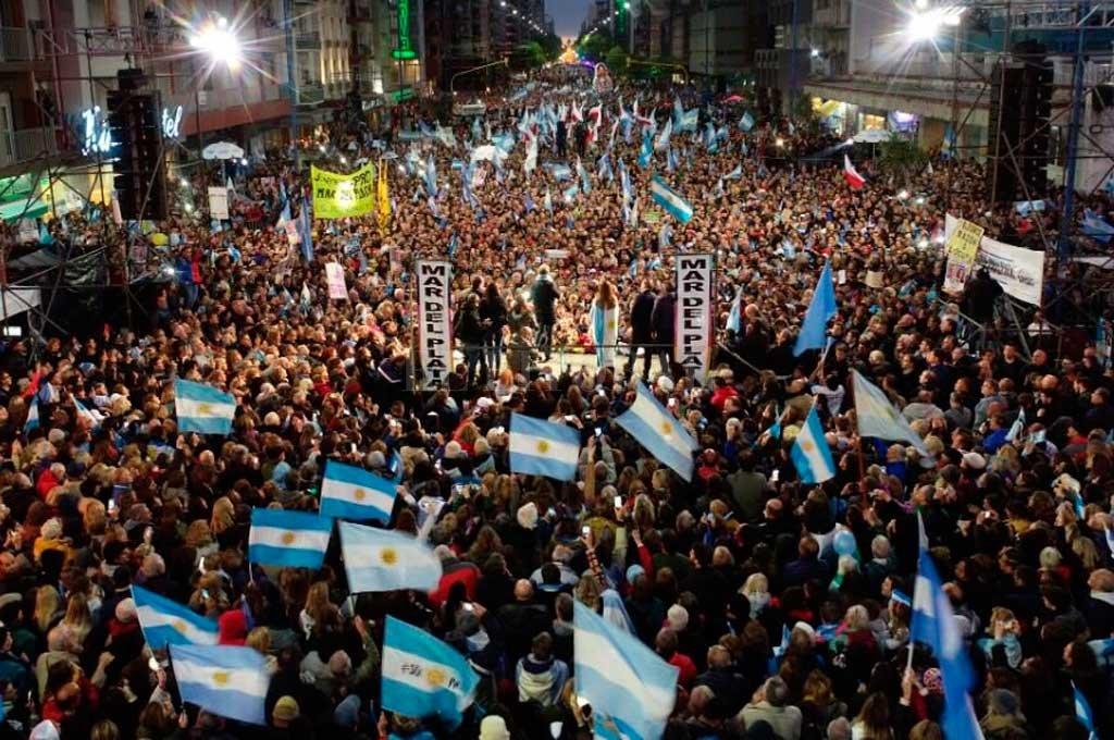 Macri estuvo este miércoles en Mar del Plata <strong>Foto:</strong> Prensa Mauricio Macri