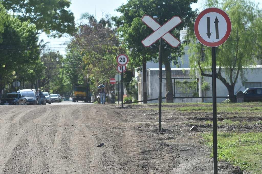 Apertura. El paso doble mano conecta ahora a los barrios Candioti Norte y 7 Jefes. Crédito: Mauricio Garín