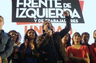 Nicolás Del Caño cerró su campaña en el Consulado Chileno