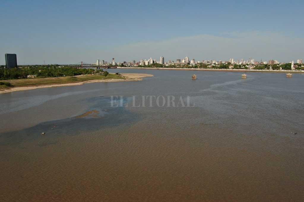 El río Paraná repuntó unos centímetros en el Puerto de Santa Fe - El Litoral