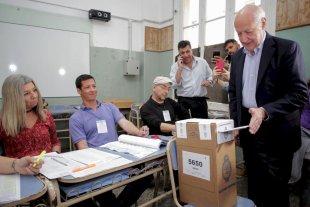 """Votó Lavagna: """"Argentina tiene todo para ser una sociedad próspera"""""""