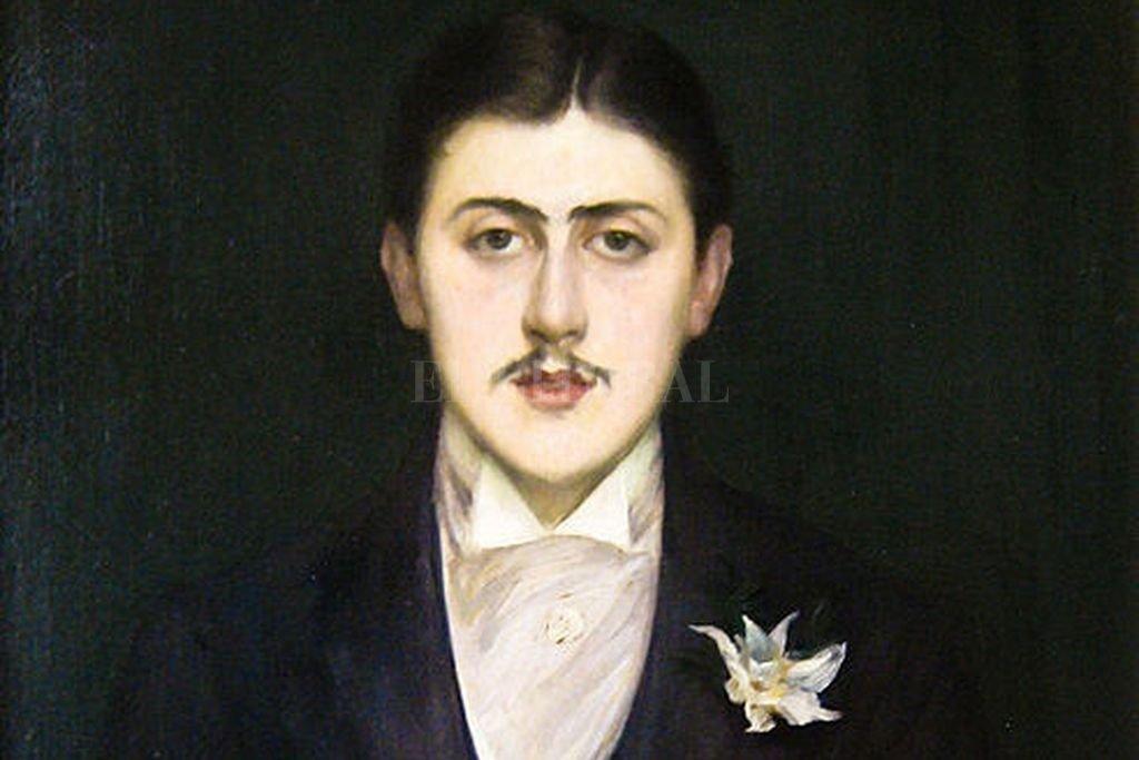 Marcel Proust retratado en 1892 por Jacques-Emile Blanche. Crédito: Archivo El Litoral