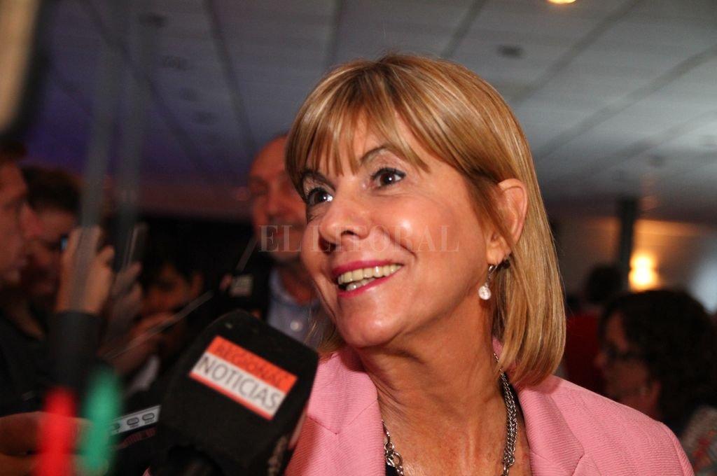 Vicegobernadora electa de la Provincia, Alejandra Rodenas. <strong>Foto:</strong> Archivo El Litoral