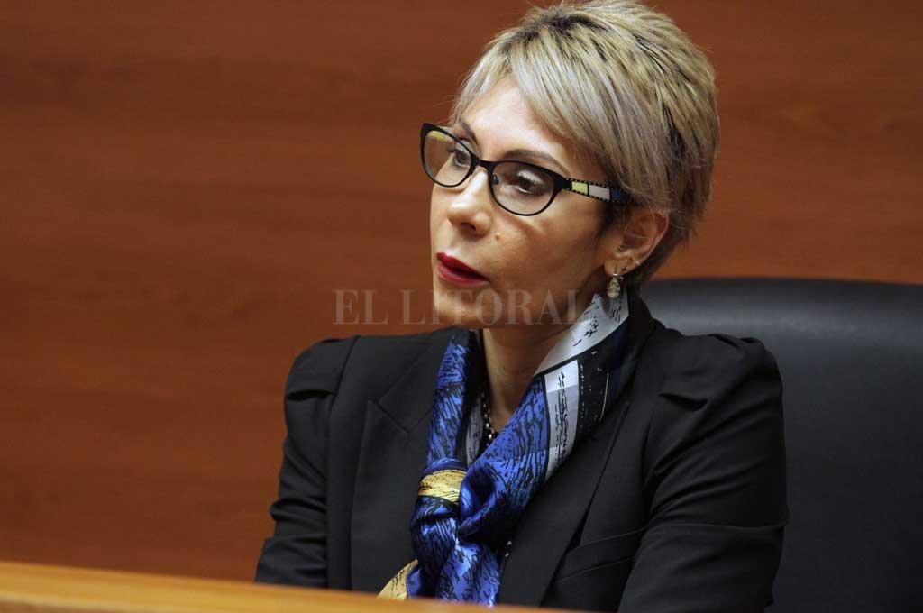 La jueza Susana Luna Crédito: Archivo El Litoral
