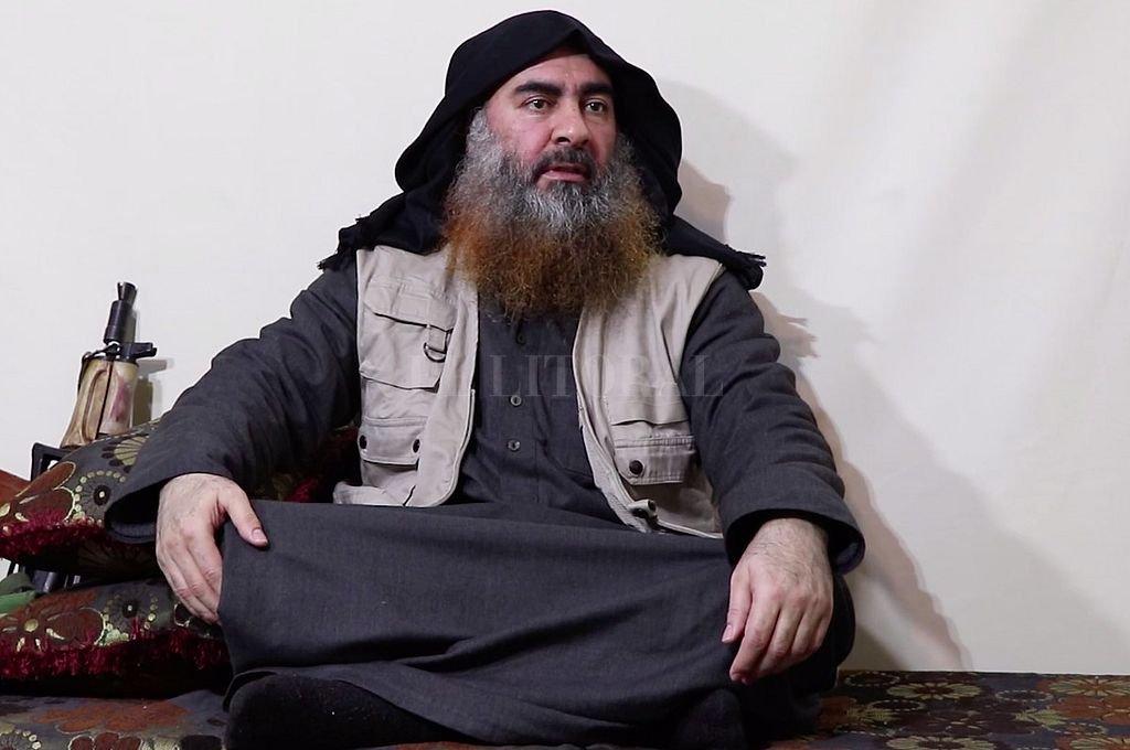 Abu Bakr al Bagdadi, el máximo líder de ISIS que, según EEUU, se inmoló este sábado al verse rodeado por militares. <strong>Foto:</strong> Captura digital