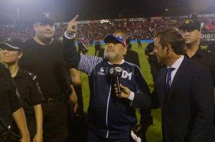 "Maradona consideró que Gimnasia ""ganó un partido que mereció, ante un grande como Newell"