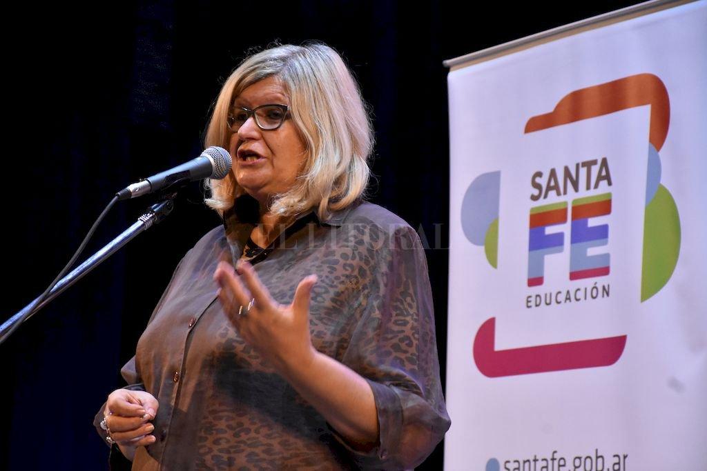 Ministra de Educación, Claudia Balagué Crédito: Manuel Fabatia