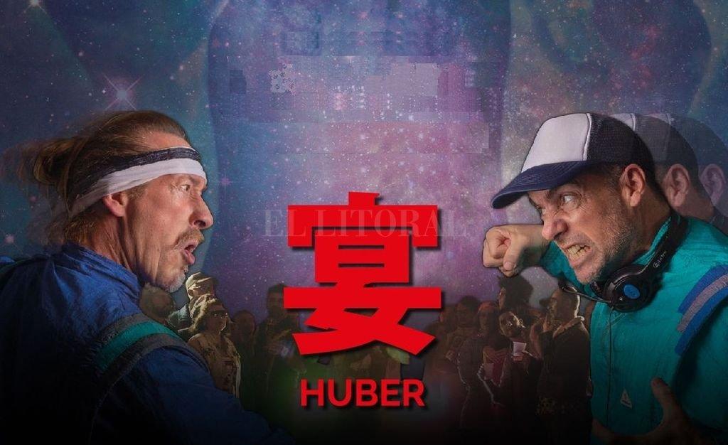 Dos guerreros del dancing reciben una señal: se trata de un evento que los volverá a enfrentar en un duelo épico. <strong>Foto:</strong> Gentileza Muchasiesta