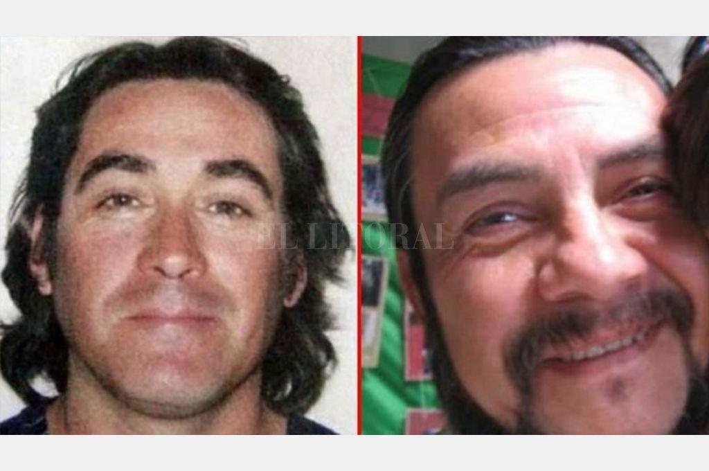 Jorge Antonio Salazar Oporto y Alexis Alfredo Cortes Torres, dos ciudadanos chilenos acusados por el homicidio del sargento ayudante de la Brigada Rural del Neuquén, José Eduardo Aigo Crédito: Captura de pantalla